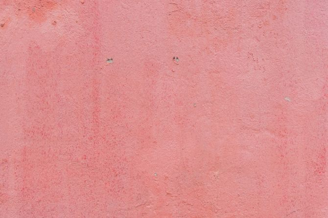 Rose coloured wall
