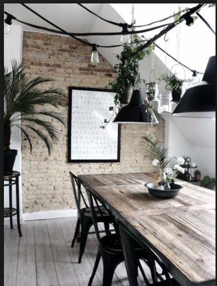 Industrial dining room_RenoQuotes.com