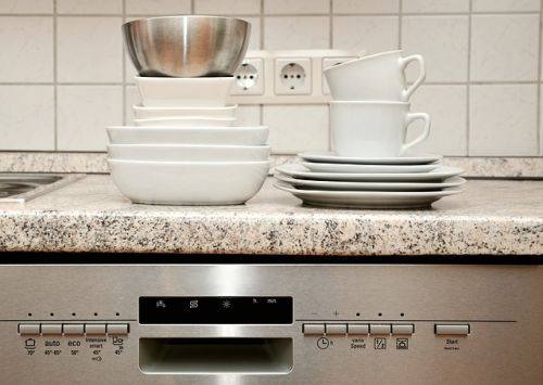 Dishwasher with dishes_RenoQuotes.com