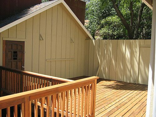 Wood deck and shed_RenoQuotes.com