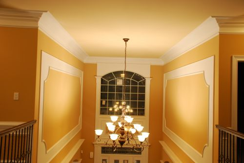 Crown moldings living room_RenoQuotes.com