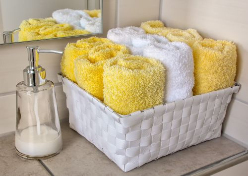 Towel storage_rangement serviettes