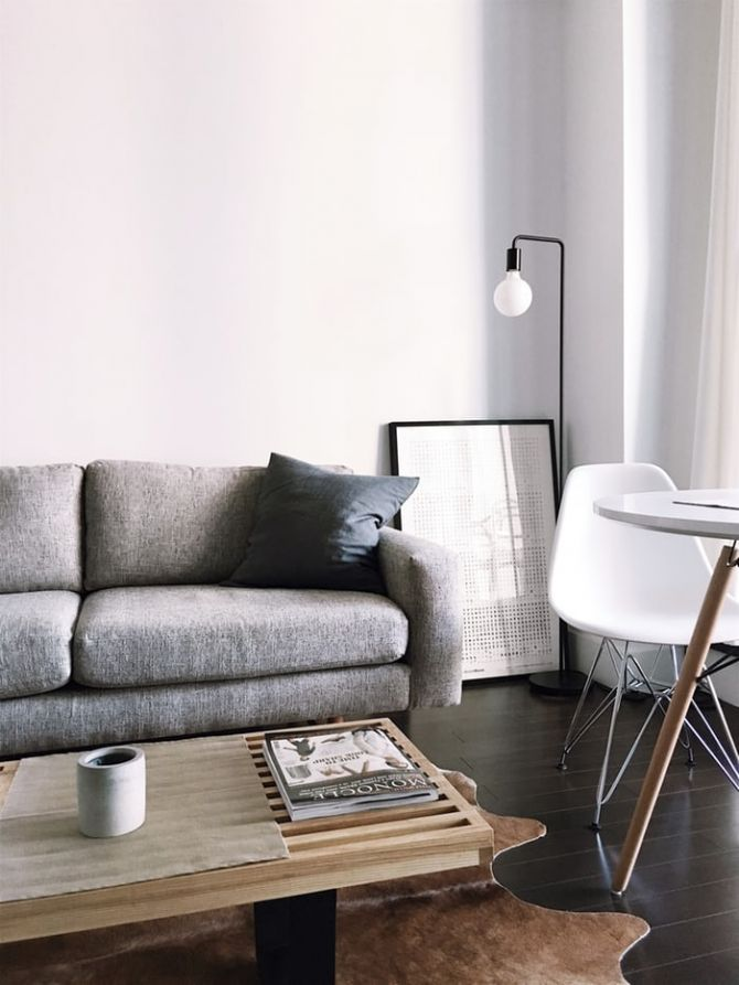 living room with grey couch_RenoQuotes